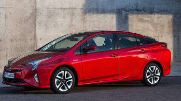 The latest Prius features dramatic and eye-catching looks, but is already a common sight on the roads