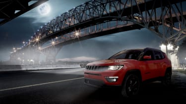 Jeep Compass Night Eagle - front 3/4 view