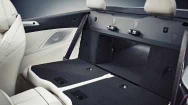 2019 BMW 8 Series Convertible rear seats