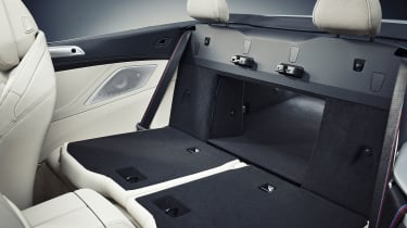 2019 BMW 8 Series Convertible rear seats