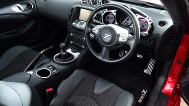 Nissan 370Z coupe interior