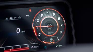 Hyundai Kona Hybrid SUV instrument