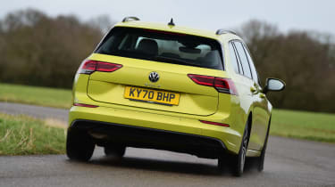 Volkswagen Golf Estate rear cornering