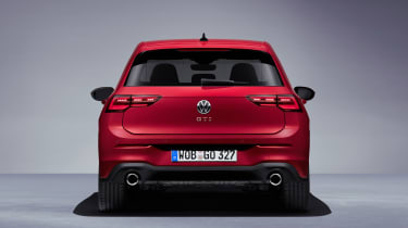 2020 Volkswagen Golf GTI  - rear on view