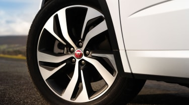 Jaguar E-Pace SUV review alloy wheels