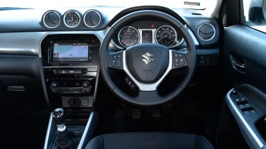Four-wheel-drive models allow you to choose four different driving modes including Sport