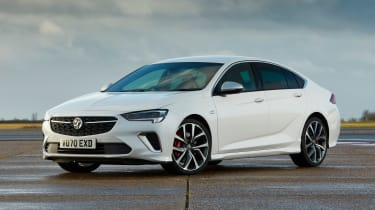 2021 Vauxhall Insignia - front 3/4 view static