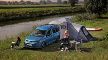2020 Volkswagen Caddy California - tent extension