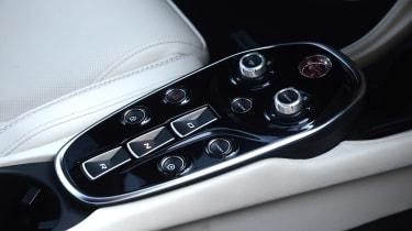 McLaren GT centre console