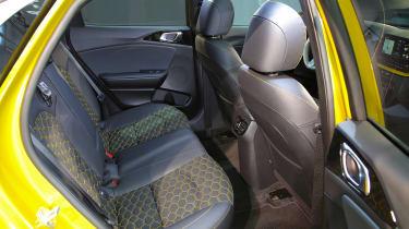 2019 Kia Xceed - rear seats side view