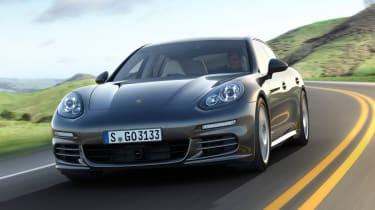 Porsche Panamera 2013 front tracking