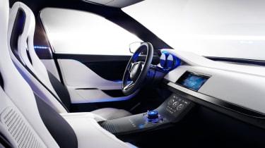 Jaguar C-X17 4x4 concept 2013 interior front