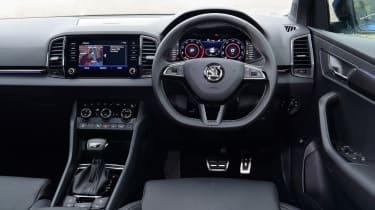 Skoda Karoq SUV interior