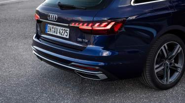 Audi A4 Avant estate rear lights