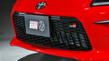 2021 Toyota GR86 - front bumper view
