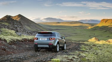 It should come as no surprise that the Discovery Sport has serious off-road ability