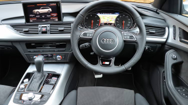 Inside, there's plenty of leather and large central infotainment screen
