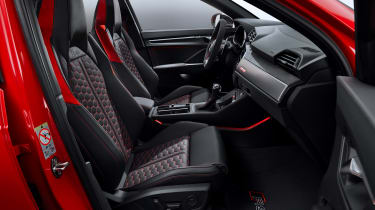 Audi RS Q3 interior - side view