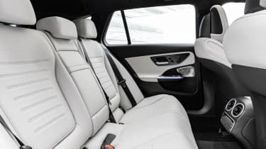 2021 Mercedes C-Class estate rear seats