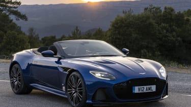 Aston Martin DBS Superleggera Volante front 3/4 static