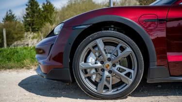 Porsche Taycan Cross Turismo alloy wheels