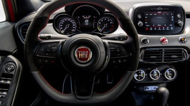 Fiat 500X Sport interior