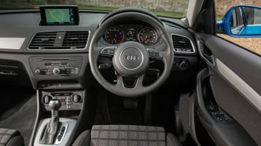 It's as stylish inside as every other model in Audi's range