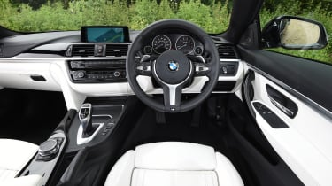 BMW 435i coupe - interior