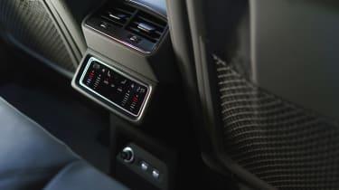 Audi e-tron SUV rear air vents