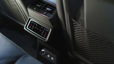 Audi e-tron SUV rear air vents