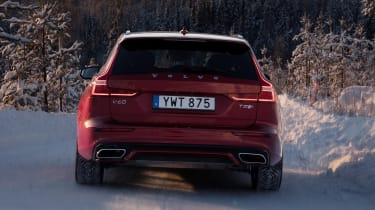 Volvo V60 T8 Twin Engine hybrid tail