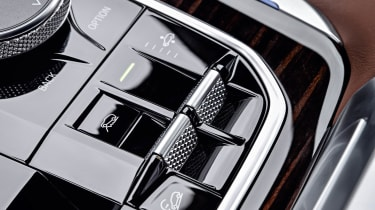 BMW X5 off-road controls
