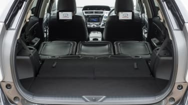 Toyota Prius+ MPV maximum luggage volume