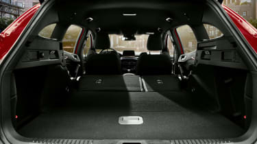 2019 Ford Focus ST estate - boot space with seats folded