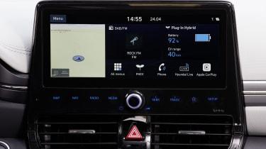 Hyundai Ioniq Plug-in Hybrid touchscreen
