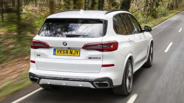 BMW X5 - rear 3/4 view dynamic