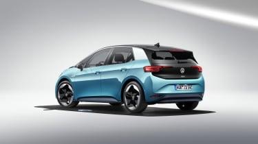 2019 Volkswagen ID.3 - rear 3/4 static