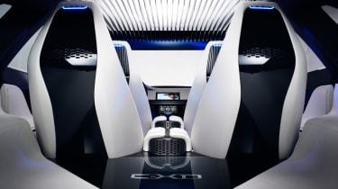Jaguar C-X17 4x4 concept 2013 interior rear
