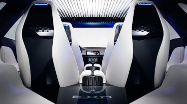 Jaguar C-X17 4x4 concept 2013 interior rear
