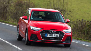 Audi A1 2019 front tracking 2