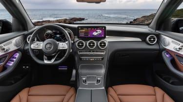 2019 Mercedes GLC SUV - interior