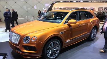 Bentley Bentayga Speed - Geneva - Front