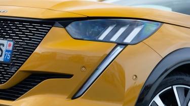 Peugeot 208 hatchback headlights