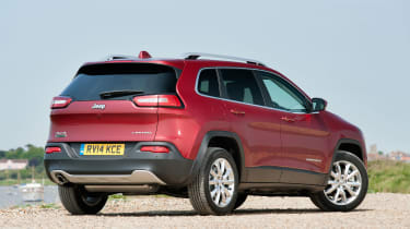 The Cherokee now has considerably more rivals than before thanks to the current trend for SUVs.