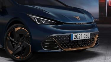 2022 Cupra Born - front close up