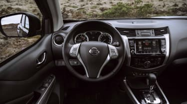 2019 Nissan Navara - interior front on
