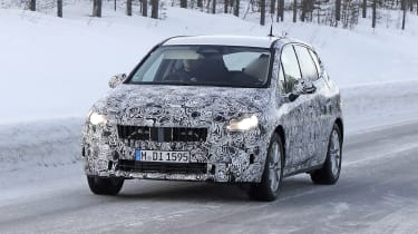 BMW 2 Series Active Tourer prototype - front