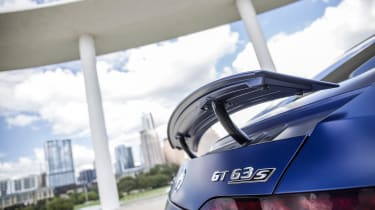 Mercedes-AMG GT 63 rear spoiler detail