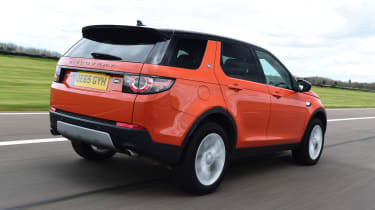 Land Rover Discovery Sport - rear 3/4 driving