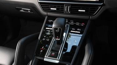 Porsche Cayenne S centre console shot